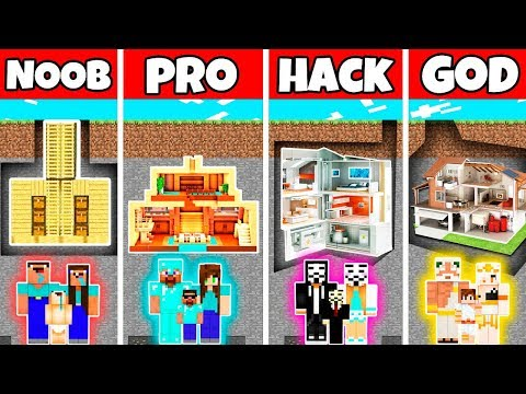minecraft:-family-underground-base-house-build-challenge---noob-vs-pro-vs-hacker-vs-god-in-minecraft