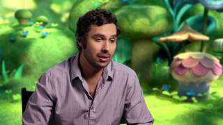 "Trolls ""Guy Diamond"" Kunal Nayyar Behind The Scenes Interview"