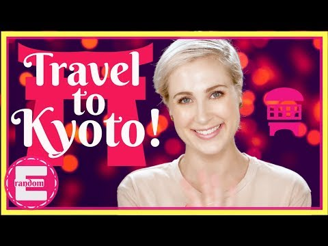 Travel to Kyoto, Japan!