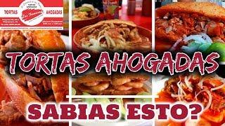 ⛔ TORTAS AHOGADAS LAS FAMOSAS EN GDL | TORTAS AHOGADAS CARNE ESTILO GUADALAJARA JALISCO | RECETA