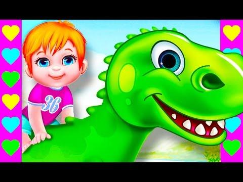 Мультик про динозавров. Отправляемся в Парк Юрского периода. Детский мультфильм про динозавриков.