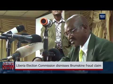 Liberia electoral commission dismisses opposition fraud claim