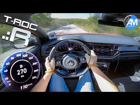 VW T-Roc R (300hp) - 0-100 Km/h Acceleration🏁