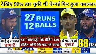 HIGHLIGHTS : MI vs CSK 1st IPL Match HIGHLIGHTS   IPL 2018 Match HIGHLIGHTS