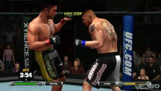 UFC 2009 Undisputed (Xbox 360) - Brock Lesnar vs Heath Herring (HD 720p)