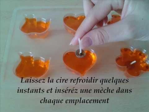 comment faire des bougies flottantes youtube. Black Bedroom Furniture Sets. Home Design Ideas