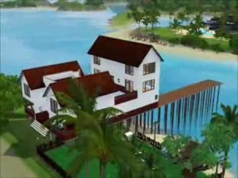 Casa in riva al mare the sims 3 youtube for Case the sims 3 arredate