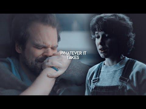 whatever it takes [eleven & jim hopper]