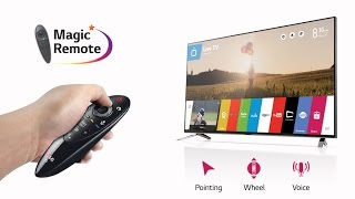 How to operate both tv & set top box with lg magic remote