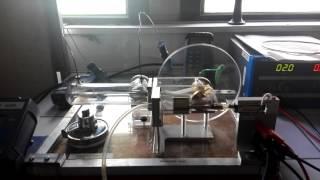 Fonctionnement d'un moteur de Stirling