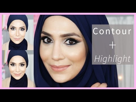 MY CONTOUR + HIGHLIGHT WITH ANASTASIA BEVERLY HILLS + LA GIRL | Amena thumbnail