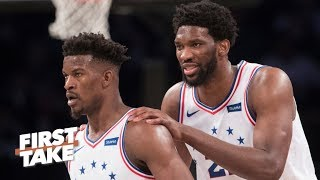 Joel Embiid is challenging Ben Simmons to step up like Jimmy Butler  – Max Kellerman | First Take