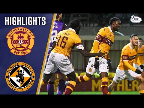 Motherwell Dundee Utd Goals And Highlights