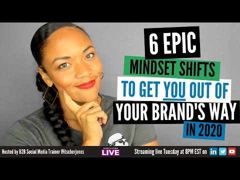 These EPIC Mindset Shifts will help YOU get out of your brand's way in 2020   #JustAskCher