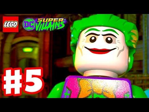 LEGO DC Super Villains  Gameplay Walkthrough Part 5  Joker Jailbreak!