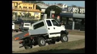 Presentazione con Test Driver dell'Iveco Massif e New Iveco Daily 4x4 a Vasto (CH)