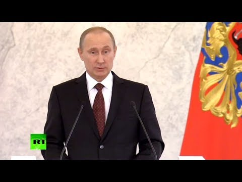 Putin: Russia not aspiring to be superpower, or teach others how to live