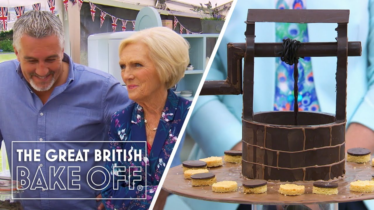 """""""That is spectacular!"""" - Ian's chocolate well wows Mary and Paul 
