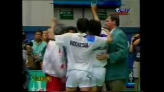 Upacara Penutupan Bulutangkis Ganda Putra Olimpiade Atlanta @ RCTI 31 Juli 1996