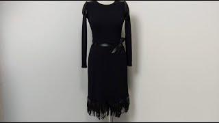 Платье черный лебедь. Обзор