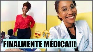 ROTINA DE UMA MÉDICA #1 PRIMEIRA SEMANA DE TRABALHO!