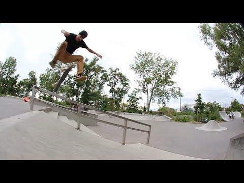Luan de Oliveira e Cezar Gordo no Canarsie skatepark