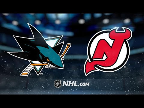 Jones, Pavelski lead Sharks past Devils, 3-0
