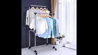 SONGMICS Adjustable Garment Rack ULLR03L