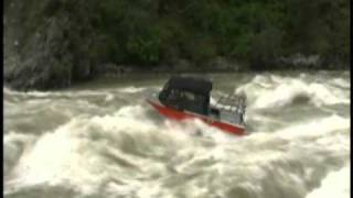 Jet boats run Staircase Rapid.wmv