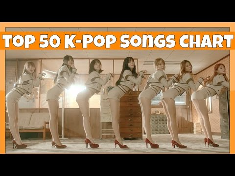 [TOP 50] K-POP SONGS CHART • JANUARY 2017 (WEEK 1)