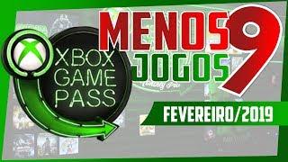 A DOR DA PARTIDA! SAEM 9 JOGOS DO XBOX GAME PASS NO MÊS DE FEVEREIRO DE 2019!