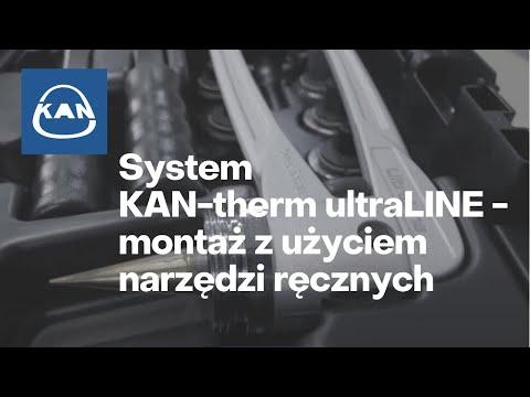 System KAN-therm UltraLine - film instruktażowy - montaż z użyciem narzędzi ręcznych PL