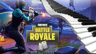PIANO TROLLING ON FORTNITE BATTLE ROYALE