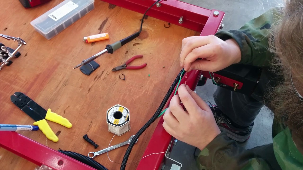 small resolution of harbor freight folding utility trailer light install