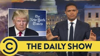 Macron Loves Holding Trump's Hand? - The Daily Show | Comedy Central