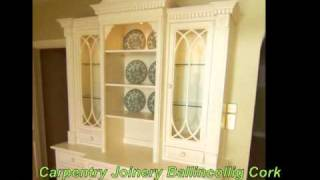 Bespoke Fitted Furniture- Carpentry Joinery Ballincollig Cork- Jonathan Evans-086-2604787