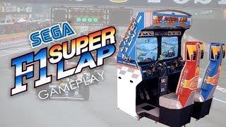 THE BEST ARCADE F1 GAME? - FORMULA 1 SUPER LAP SEGA gameplay arcade/MAME