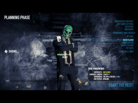 Holidays How To - Stealth Shadow Raid in Payday 2