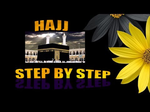A Step-by-step Guide To Complete Hajj In Urdu /hindi