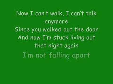 Maroon 5: Not Falling Apart with lyrics