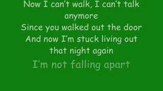 Maroon 5: Not Falling Apart with lyrics Video