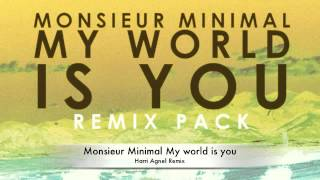 Monsieur Minimal My world is you (Harri Agnel Remix)