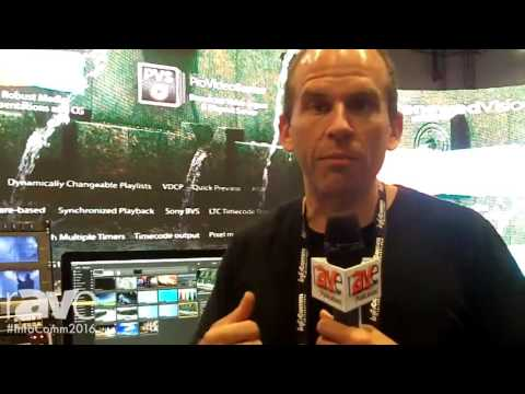 InfoComm 2016: Renewed Vision Reveals ProVideoPlayer for Playback and Processing