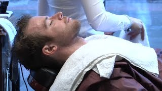 Download Relaxing Straight Razor Shave - Female Barber Mp3 and Videos