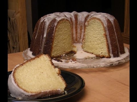 Rum Cake with Michael's Home Cooking