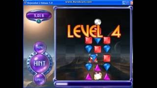 Bejeweled 2 Deluxe: Cognito Mode: lv1 to lv14