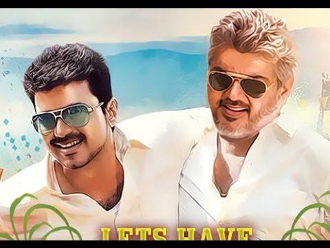 Vijay vs Ajith - ThalaThalapathy - TamilGlitz