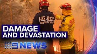 NSW Bushfires: Highlands under threat | Nine News Australia