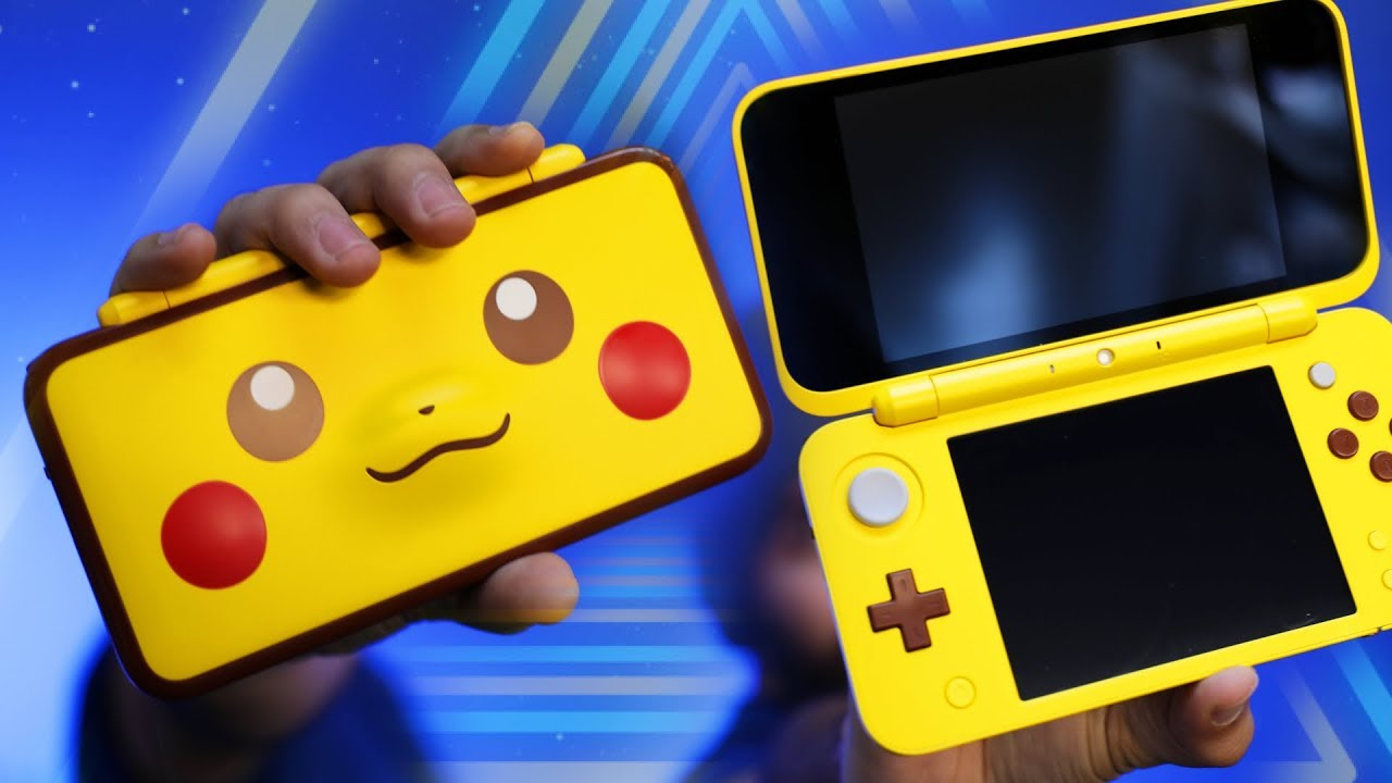 New Pikachu Nintendo 2ds Xl Unboxing Youtube