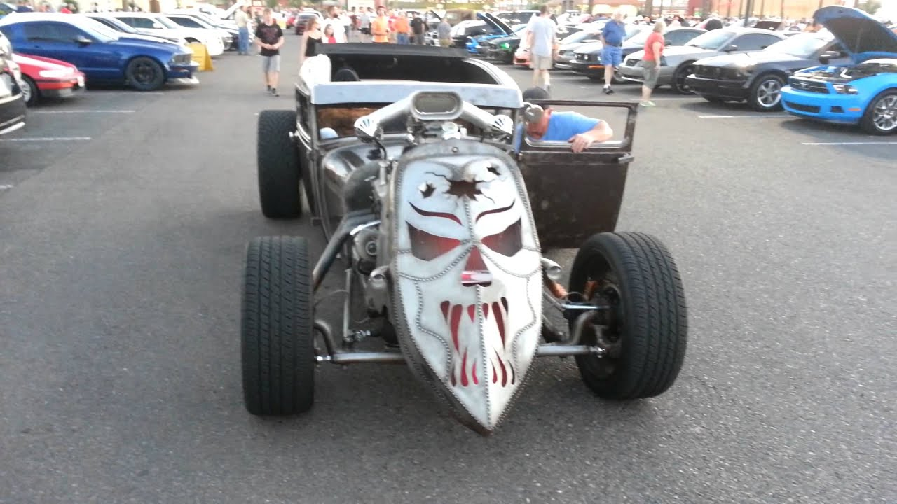 Custom rat rod - YouTube
